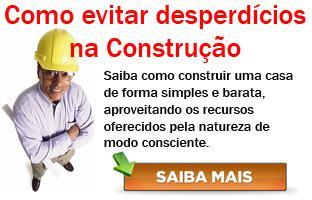COMO EVITAR DESPERDÍCIOS NA CONSTRUÇÃO