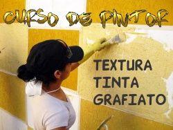 Curso Completo Aplicação Tinta, Textura & Grafiato Em Parede em PDF